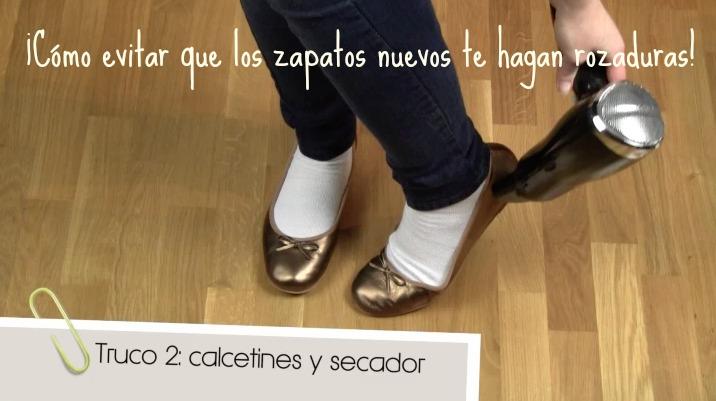 Videoblog evita que los zapatos nuevos te hagan rozaduras