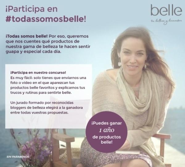 Concurso todas somos Belle