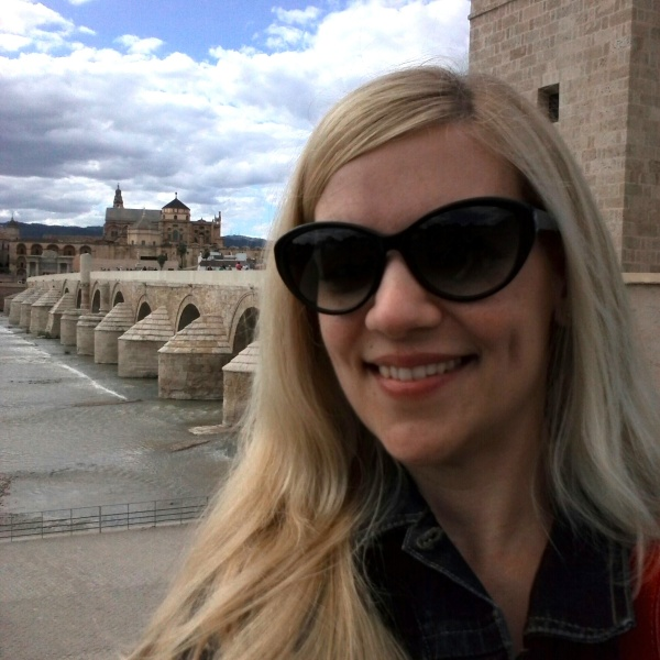 Selfie en el Puente Romano de Córdoba