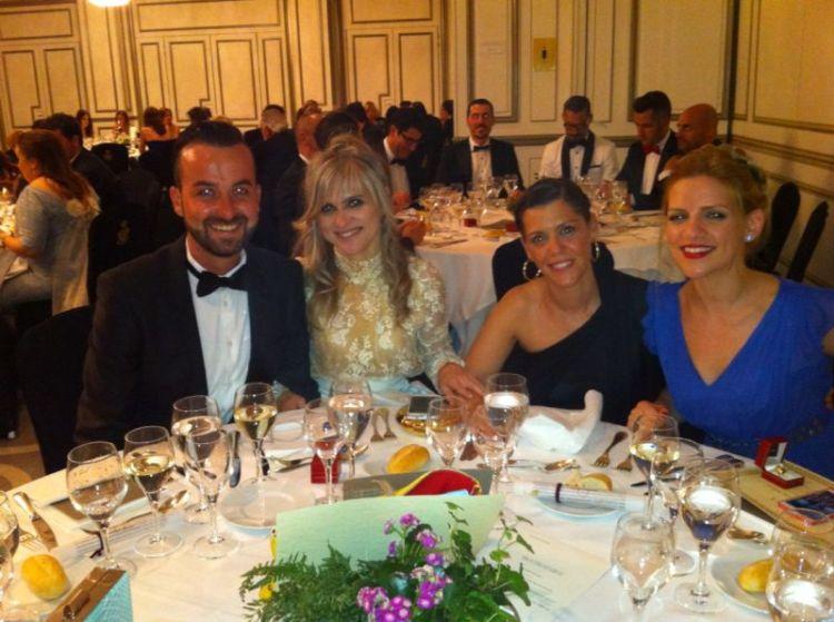 Cena en el Hotel Westin Palace - Dedales de Oro 2014
