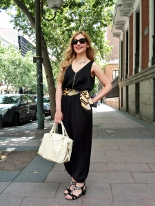 Primark black jumpsuit