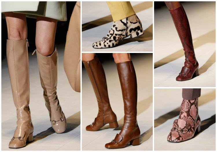 Botas Gucci otoño invierno 2014 2015
