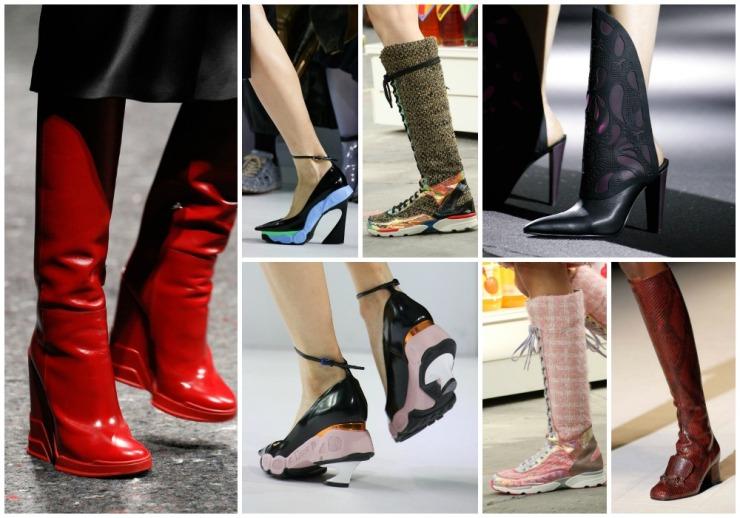 Botas y zapatos de esta temporada que no acabo de entender