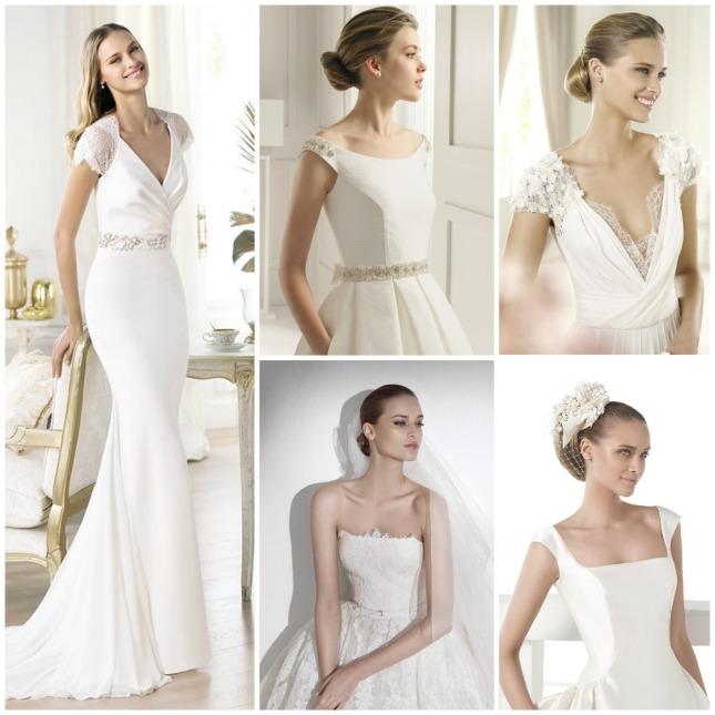 Escotes vestidos de novia Pronovias Rosa Clara