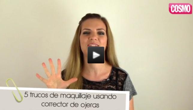 5 trucos de belleza usando correctos de ojeras