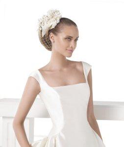Vestido Celene Pronovias Atelier 2015 escote cuadrado