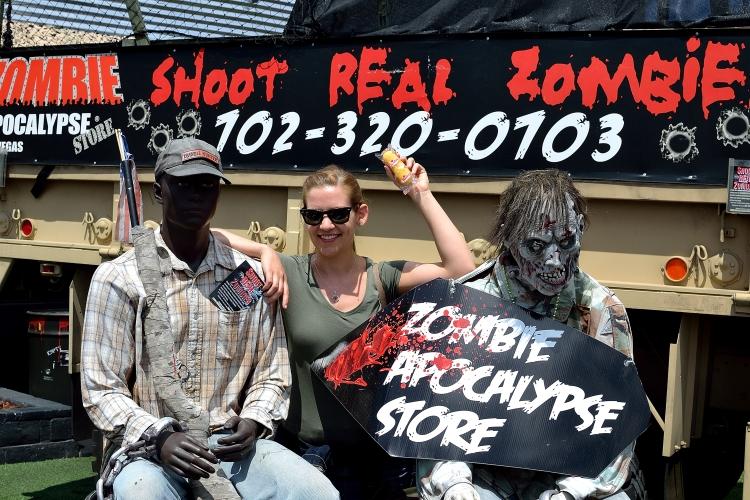 The Zombie Apocalypse Store en Las Vegas