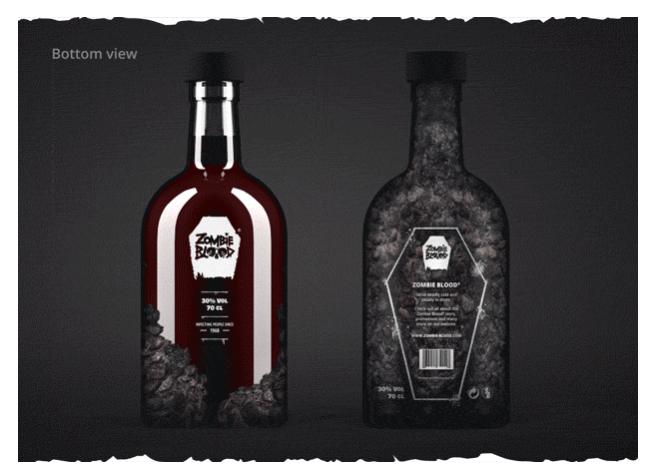 Zombie Blood spirit drink