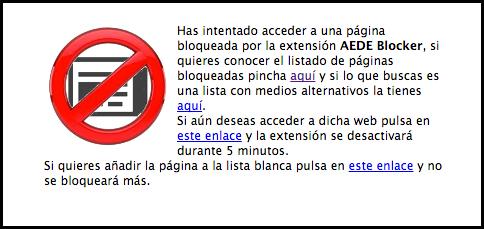 Boicot AEDE