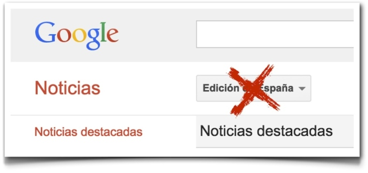 Google News Spain AEDE