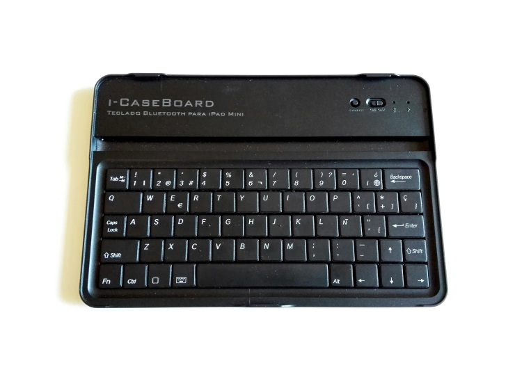icaseboard Amazon teclado iPad Mini