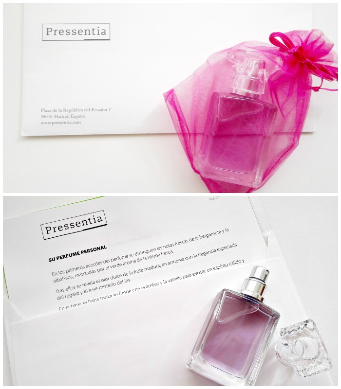 Perfume personalizado Pressentia