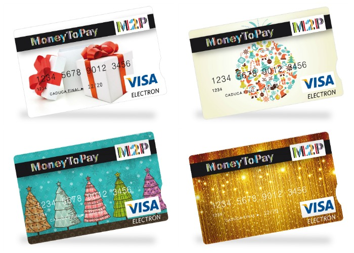 Tarjetas Visa MoneytoGift