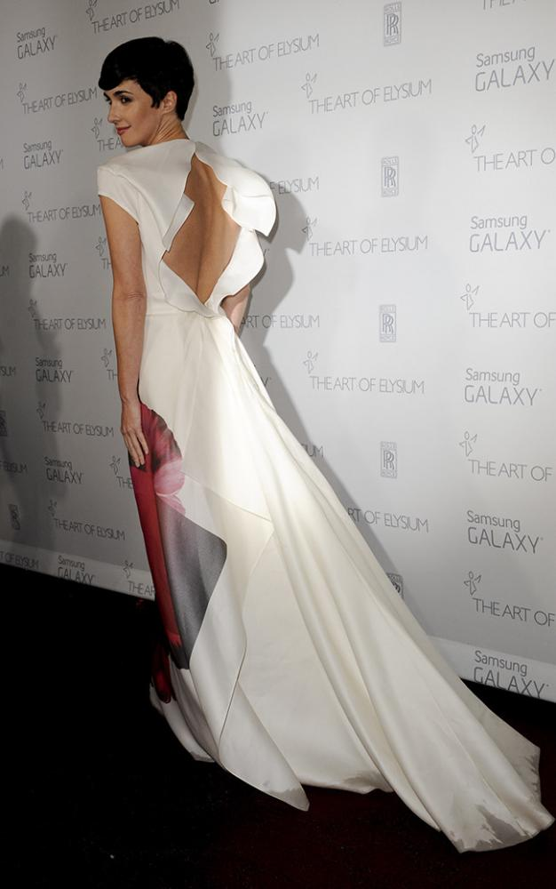 Paz Vega en la gala The art of Elysium