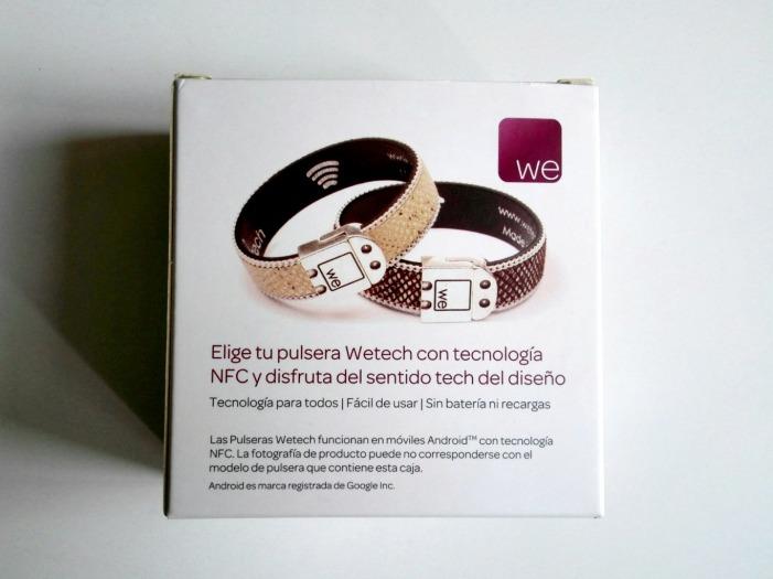 Pulsera Wetech detalle caja