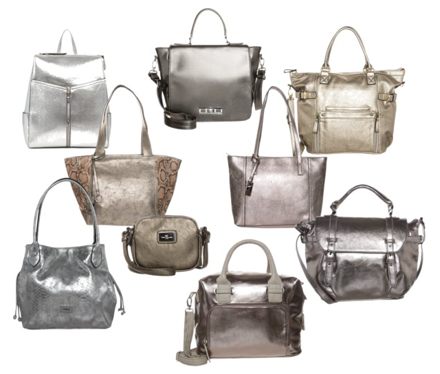 Tendencias 2015 bolsos metalizados