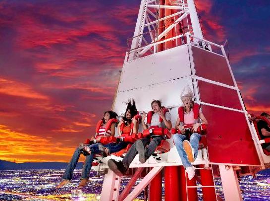 Lanzadera del Stratosphere Las Vegas