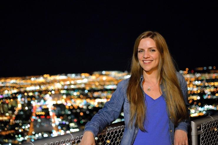 Skyline de Las Vegas desde la azotea del Stratosphere