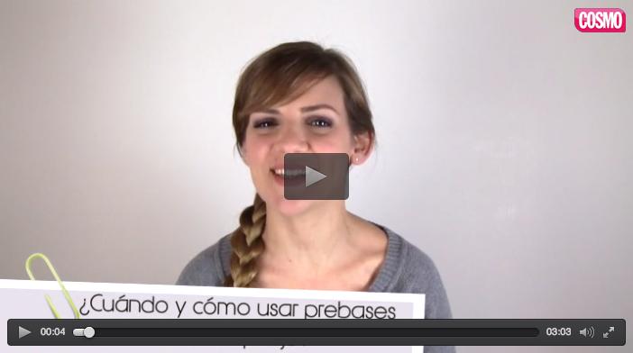 Videoblog de belleza prebases de maquillaje