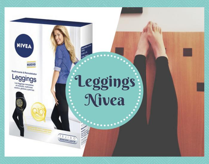 Leggings remodelantes y reafirmantes de Nivea