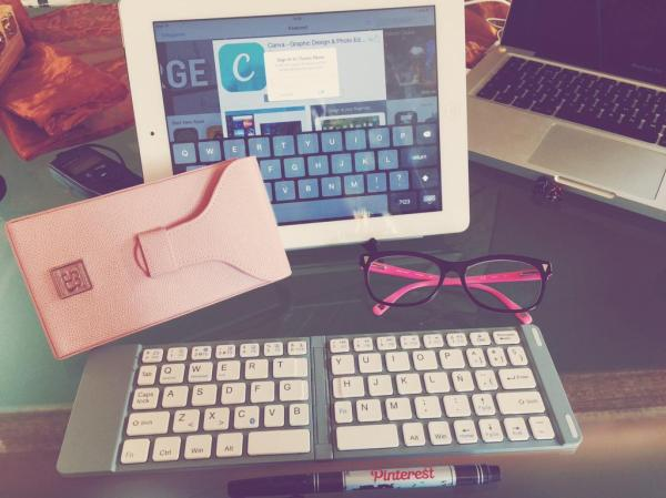 Teclado español iPad Mini en Deseo Beauty