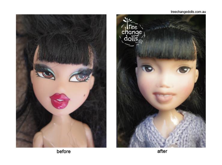 Bratz sin maquillaje Sonia Singh