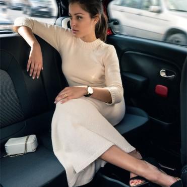 Hiba Abouk embajadora de Twingo