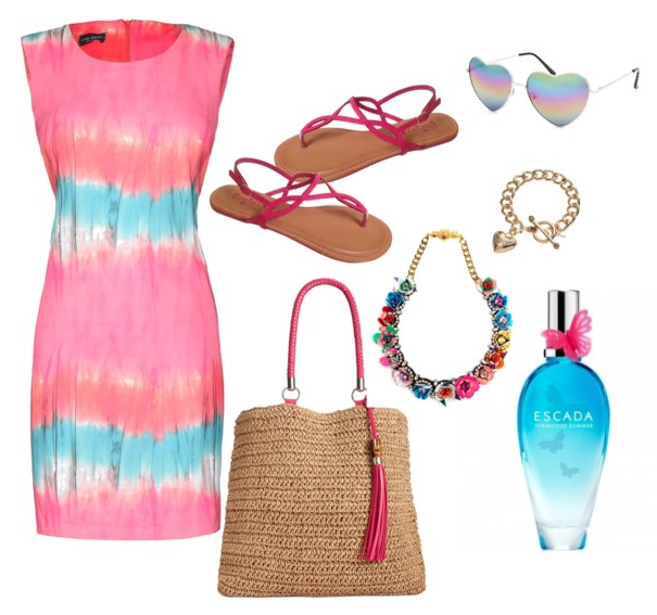 Look Tie Dye - Turquoise Summer Escada