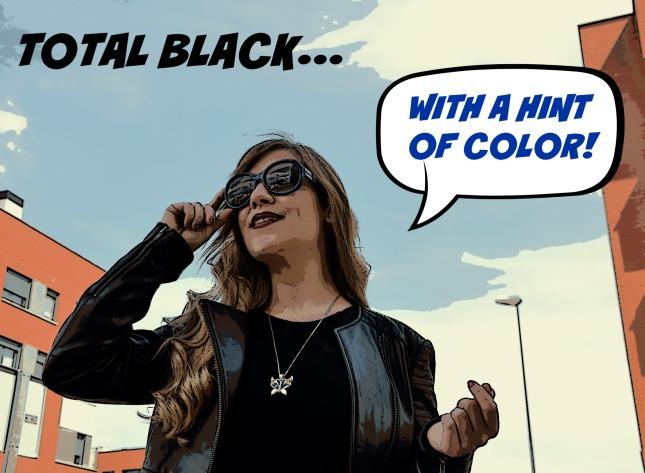 Total black cabecera