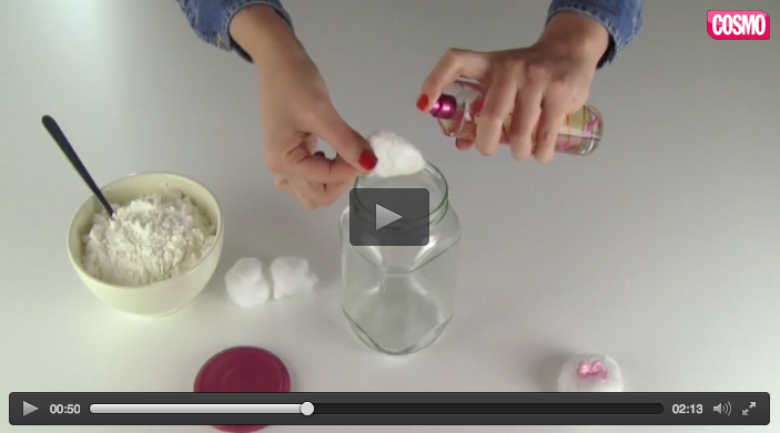 Ver vídeo - Cómo fabricar polvos perfumados