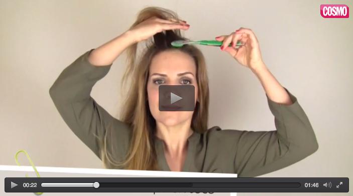 Ver vídeo - Trucos de belleza con un cepillo de dientes