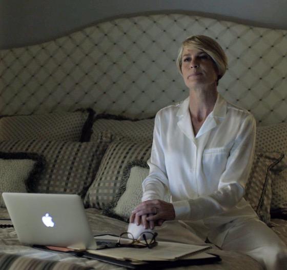 Los pijamas de Claire Underwood