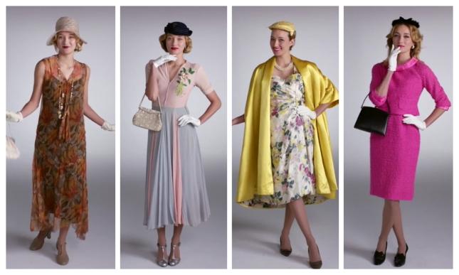 100 años de moda en 2 minutos