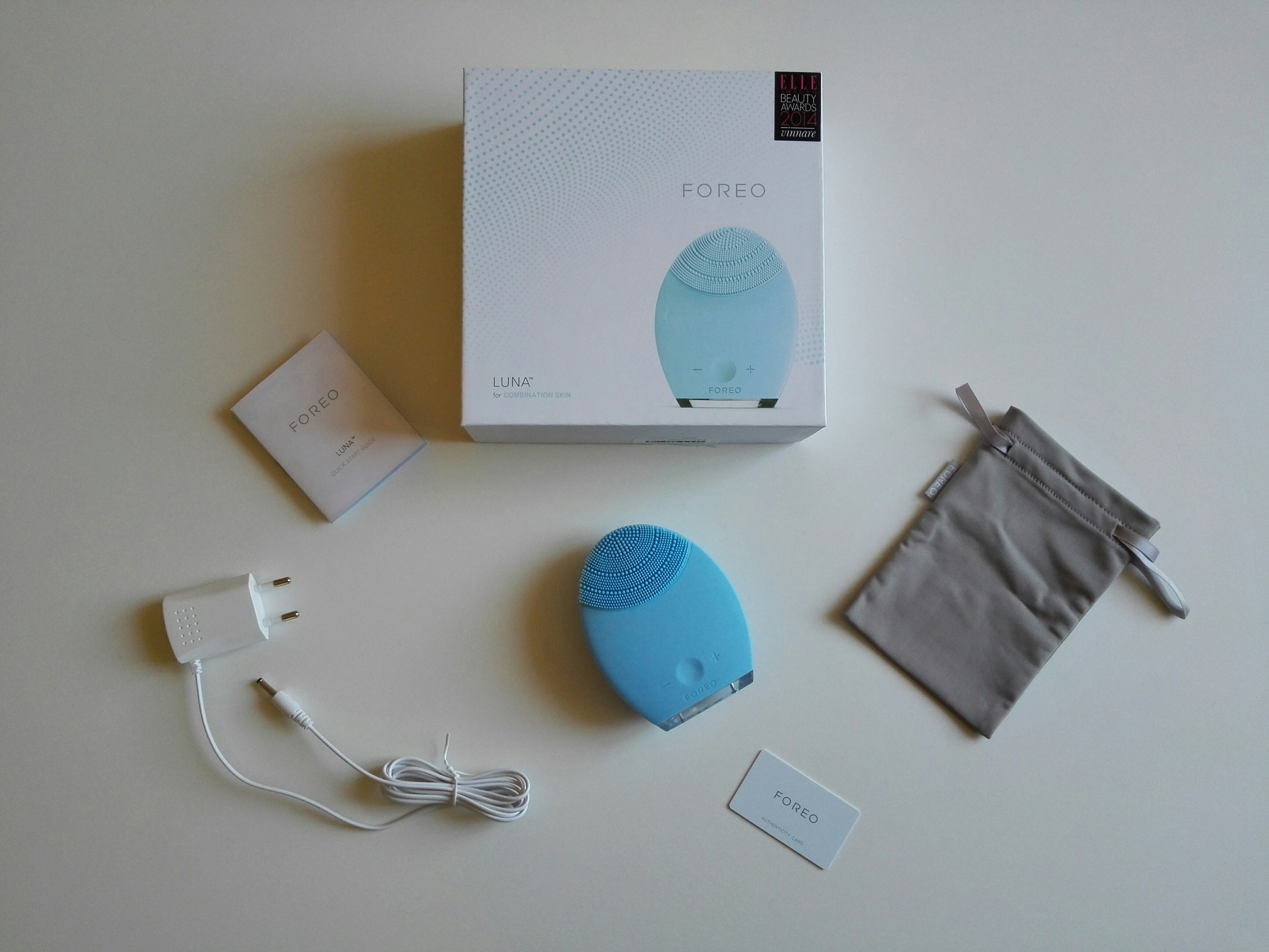 Unboxing Foreo Luna pieles mixtas