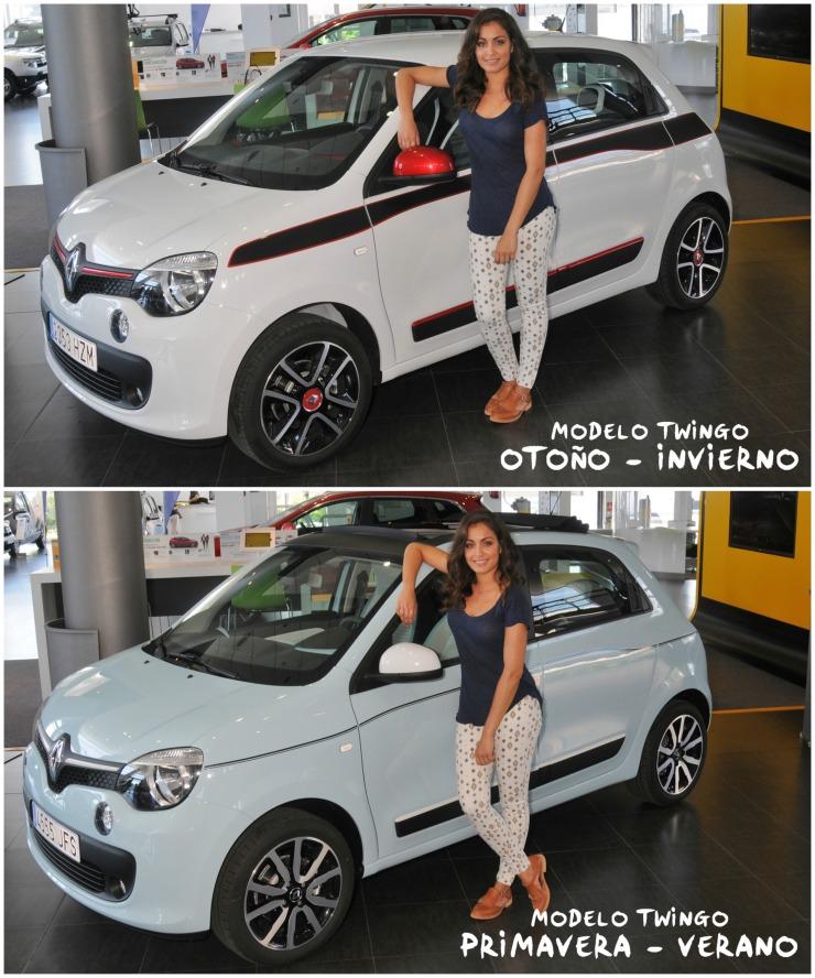 Hiba Abouk diferencias Twingo