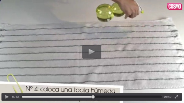 Ver vídeo planchar sin plancha