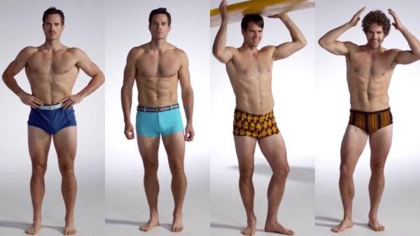 100 años de moda baño masculina