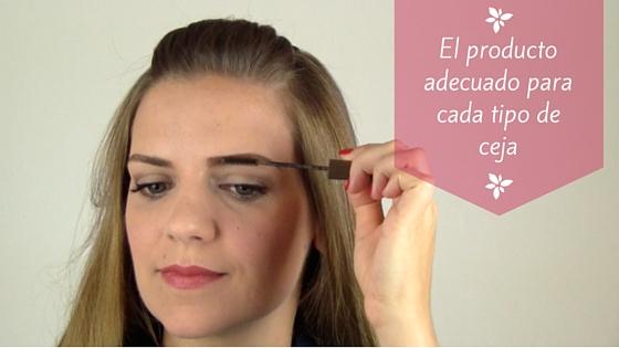 El producto adecuado para maquillar cada tipo de ceja