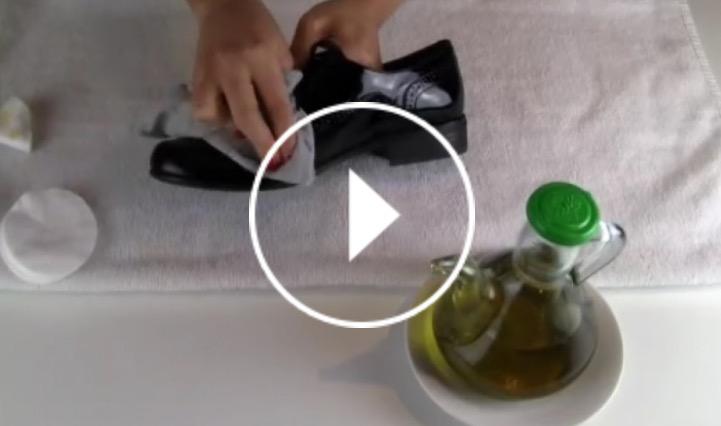 Trucos para limpiar zapatos de charol o ante