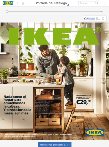 Preview app Ikea iPad