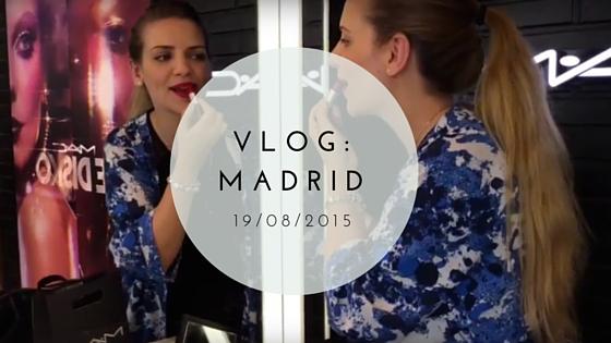 Vlog cumpleaños en Madrid