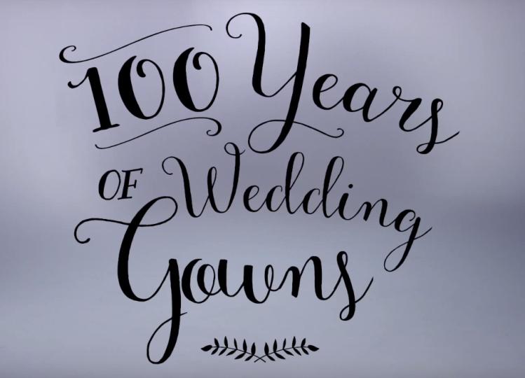 100 años de vestidos de novia