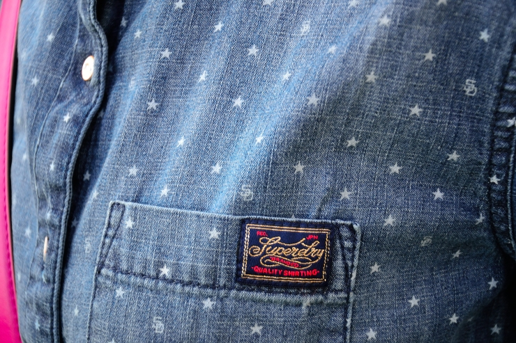 Camisa denim de SuperDry