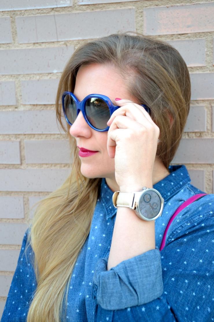 Huawei Watch y gafas Rayban