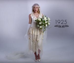 Vestido de novia años 20