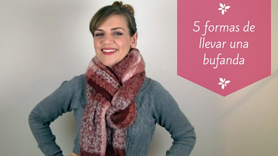 5 formas de llevar una bufanda larga