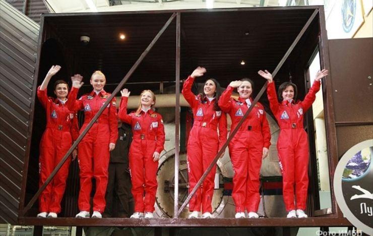 Astronautas y maquillaje