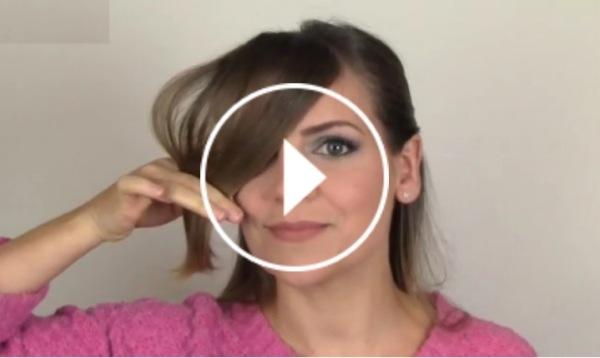 Ver vídeo cortar flequillo lateral en Cosmopolitan TV