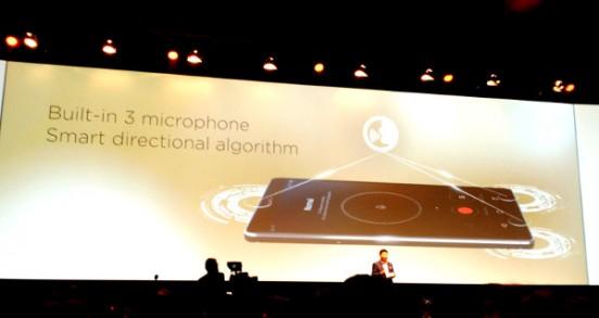 Micrófonos Huawei Mate S
