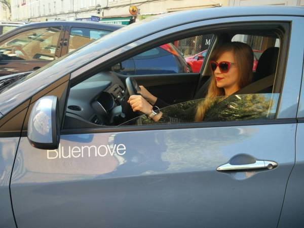 Probando Bluemove carsharing Madrid